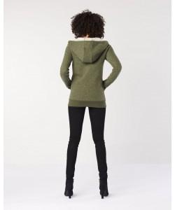 Hoodlamb Ladies' Classic zip up hoodie